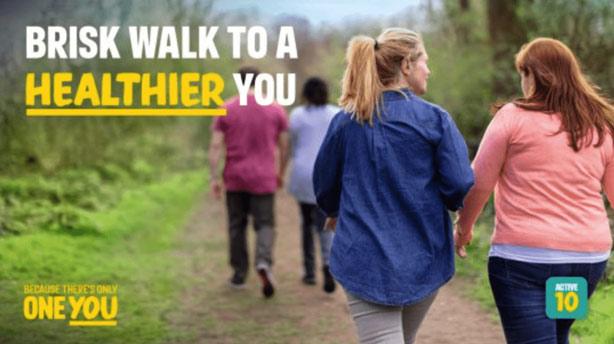 Brisk walk to a healthier you