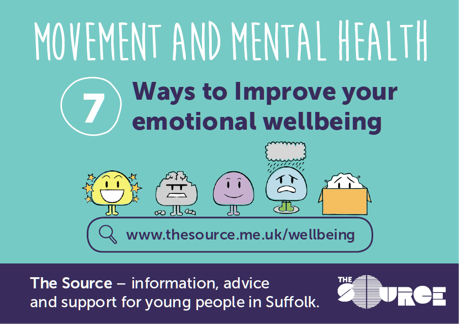 New resources will help young people understand the link between movement and mental health