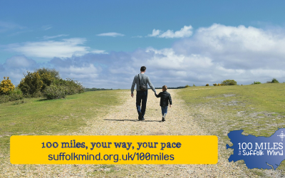 Charity launches 100 Miles for Suffolk Mind fundraising campaign to plug donations gap