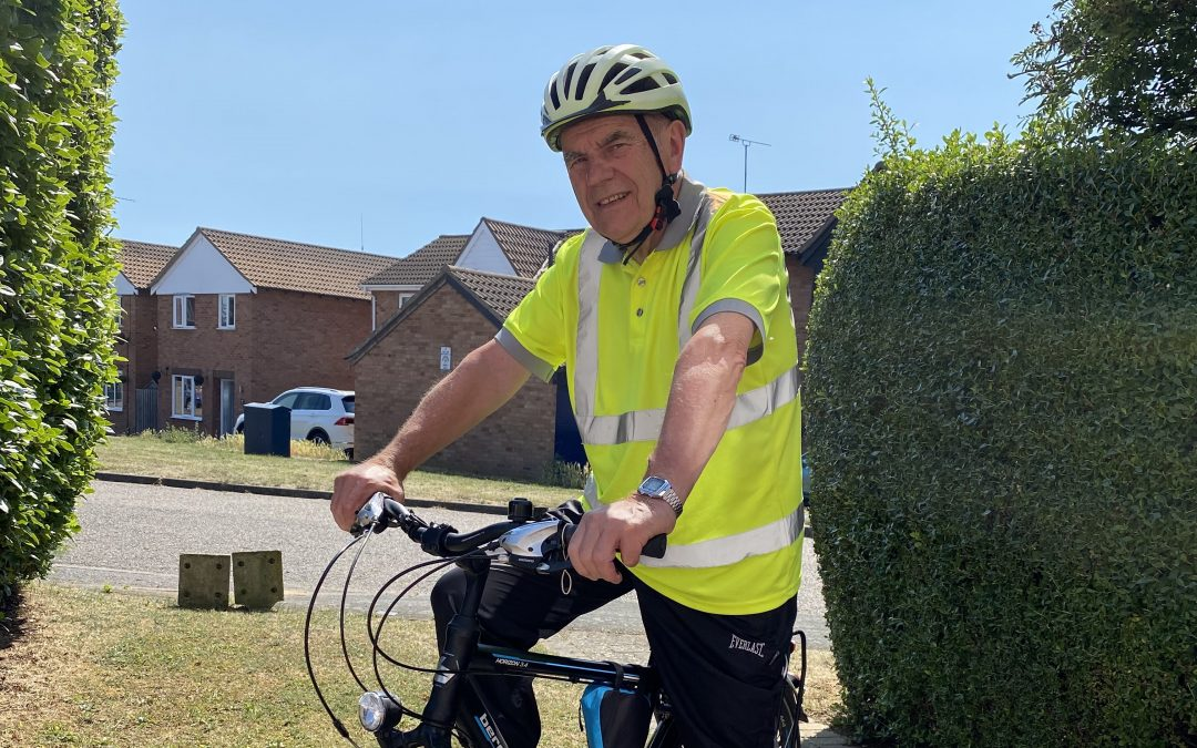 Suffolk County Council Chairman calls on public to join him on epic 272 km bicycle ride in aid of St Elizabeth Hospice