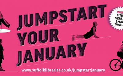 Jump into 2021 with Suffolk Libraries
