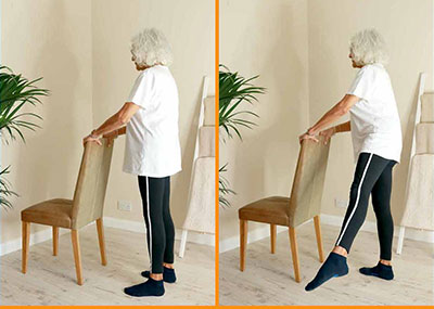 Sideways leg lift