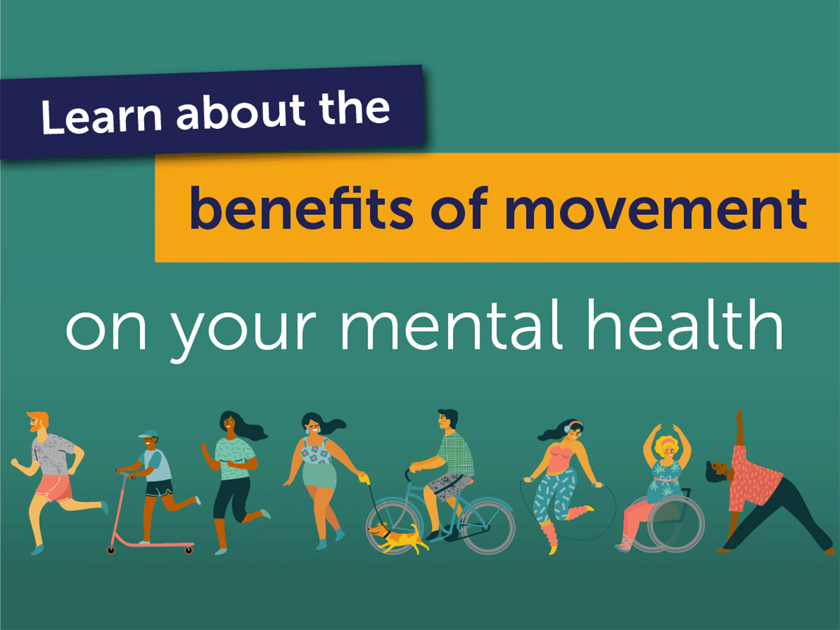 Facebook asset for movement and mental health