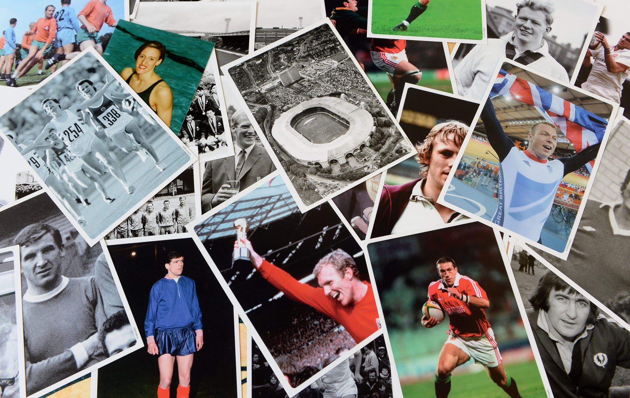 Montage of sport images