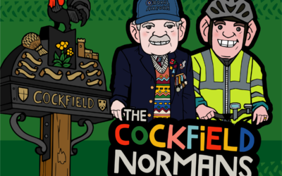 The Cockfield Normans ride the distance from UK to Tanzania