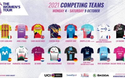 World's best teams head to Suffolk for the 2021 Women's Tour