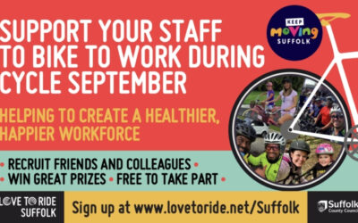 Suffolk businesses invited to attend Cycle September webinars