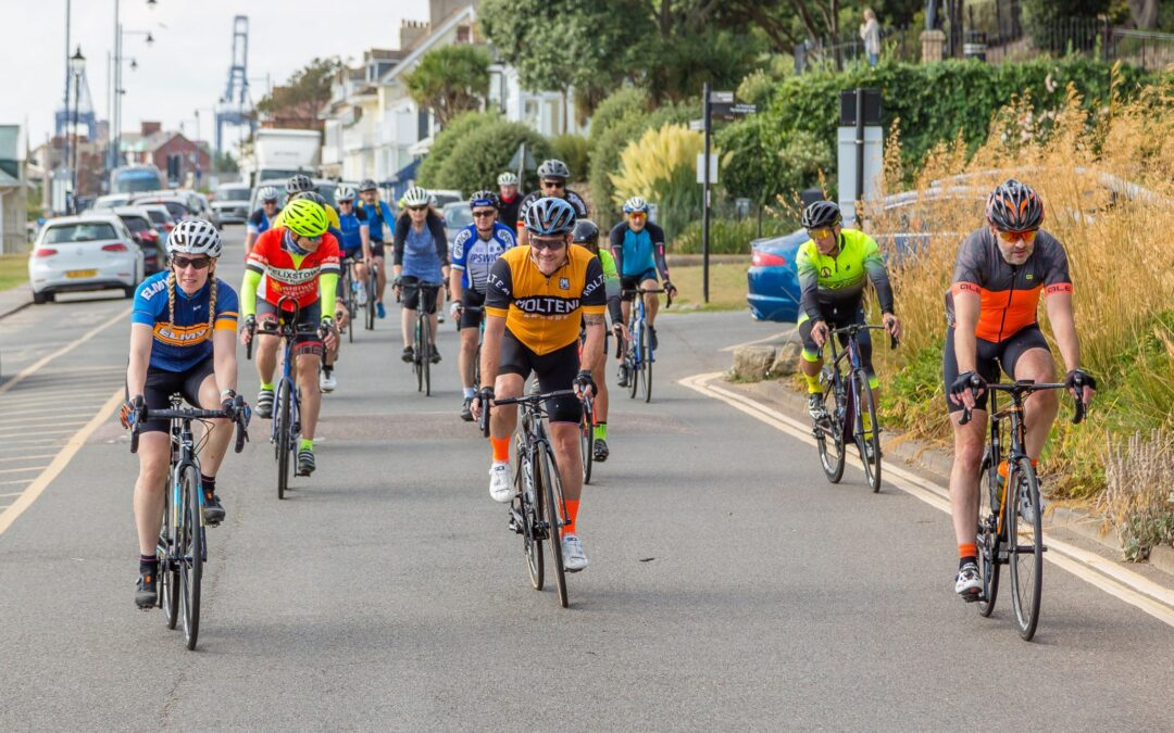 Riders experience Suffolk stage of AJ Bell Women's Tour